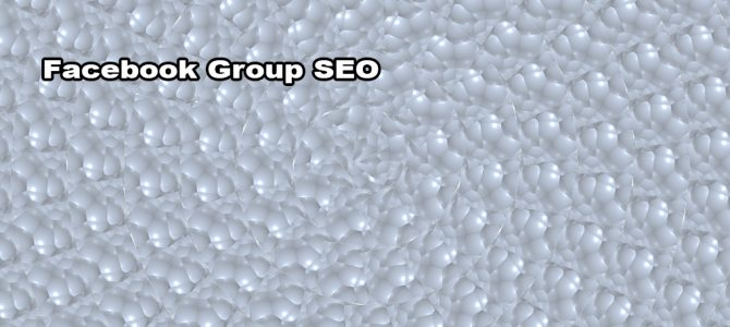 Facebook Group SEO